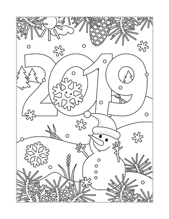 Printable Coloring Pages Cliparts Stock Vector And Royalty Free Printable Coloring Pages Illustrations