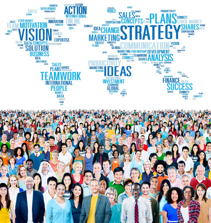 Strategy Action Vision Ideas Analysis Finance Success Concept Stock Photo - 40992229