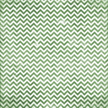 Grunge green chevron pattern