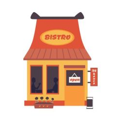 Outside Diner Stock Vector Illustration And Royalty Free Outside Diner Clipart