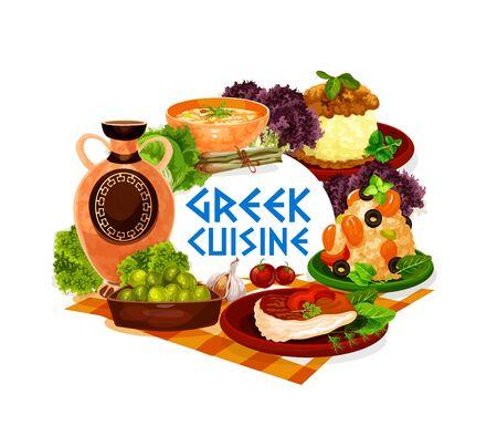 7,953 Greek Food Stock Illustrations, Cliparts and Royalty Free Greek Food  Vectors