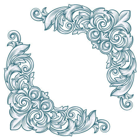 Decorative vintage border corner frame for design also stock photos royalty free images rh rf