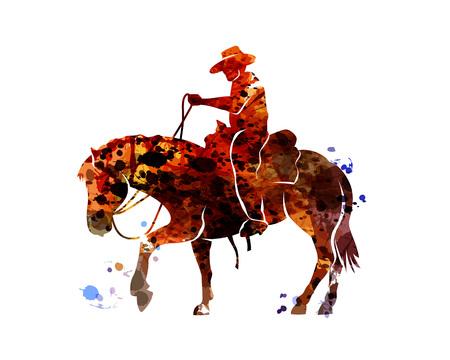 5 079 cowboy silhouette