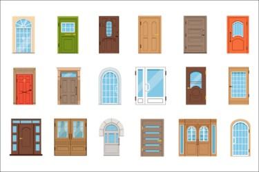 Front Door Cliparts Stock Vector And Royalty Free Front Door Illustrations