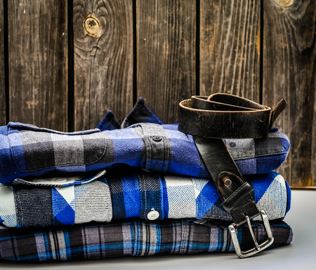 Image result for folded shirt and jeans