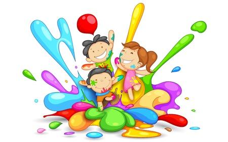Resultado de imagen de dibujo niños jugando