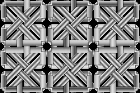 seamless pattern of wicker