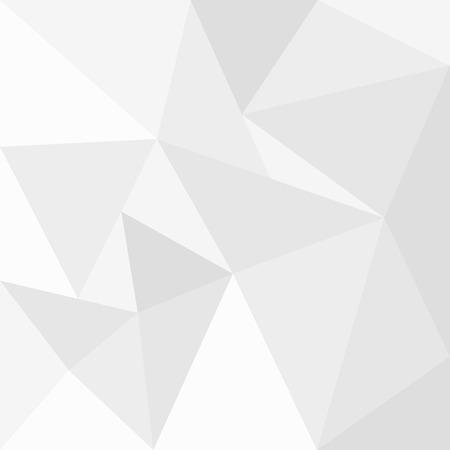 abstrait fond blanc geometrique modele pour la conception de style polygone arriere plan de vecteur