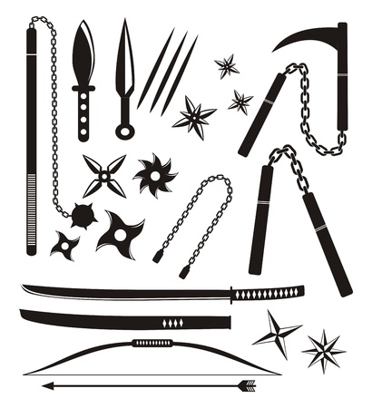 ninja weapons: ninja weapon sets
