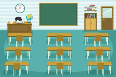 Empty Classroom Stock Photos And Images 123RF