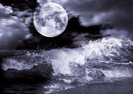 Full moon  Stock Photo - 7545668