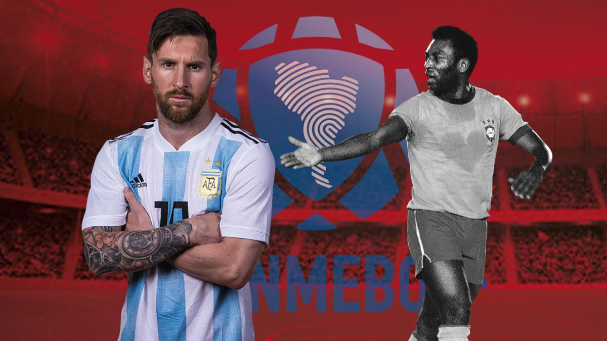 He doesn't need to win the world cup or the copa américa with argentina to clarify this because he show. Historico Lionel Messi Rompe Un Impresionante Record De Pele As Usa