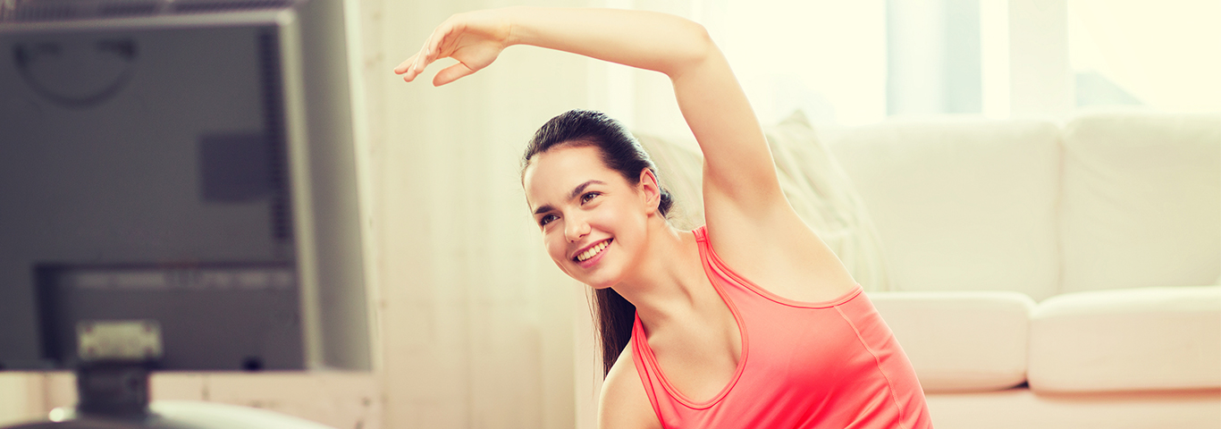 7 Ways to Exercise while Watching TV  AccuChek