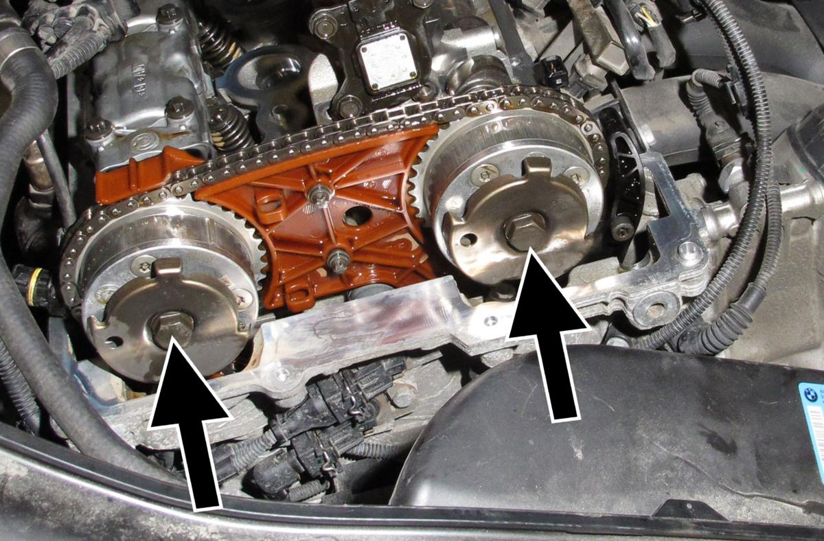 then check if mechanical engine timing is correct lock engine down using camshaft and crankshaft locking tools set engine according to repair information  [ 1200 x 788 Pixel ]