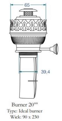 Buy DHR Burner 20''' Ideal BR20ID in USA Binnacle.com