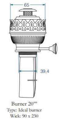 Buy DHR Burner 20''' Ideal BR20ID in USA Binnacle.com