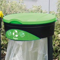 Glasdon Orbit Paper Recycling Bag Holder | Recycling Bins