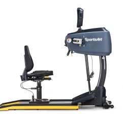 Wheelchair Seat Belt Zero G Chair Human Touch Ub521m Bilateral Upper Body Ergometer - Sportsart