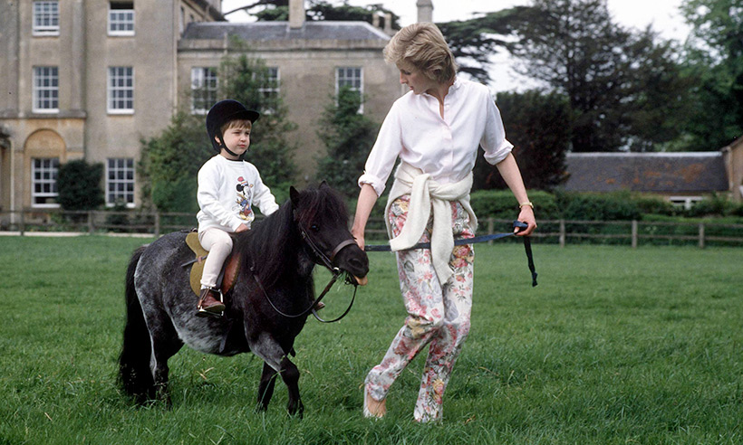 See which young royal has been pictured horse riding for