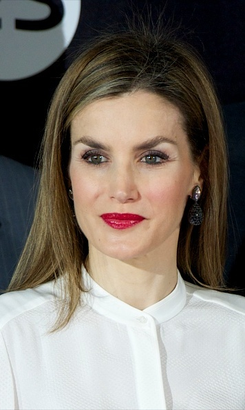 Queen Letizia Steps Out In Minimally Chic Ensemble To