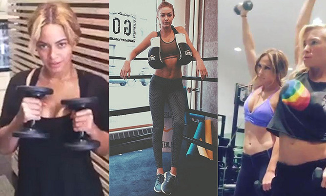 Beyonc To Jennifer Lopez Their Best Workout And Diet Tips