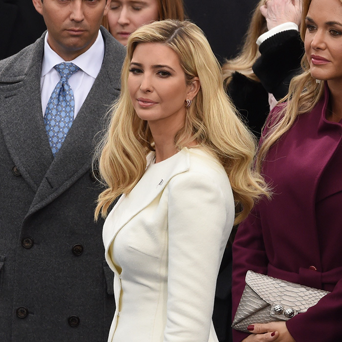 "Ivanka on Inauguration Day. ""I've been fortunate to accompany and work with Ivanka during important moments of her life,"" Alexa reflected. ""Every look in its moment has been special.""  Photo: Getty Images"