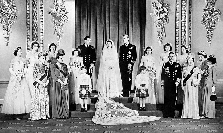 Royal Wedding Queen Elizabeth II And Prince Philips