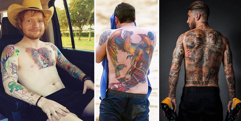 Ben Affleck No Es El único Estos 10 Famosos También Tienen Tatuajes