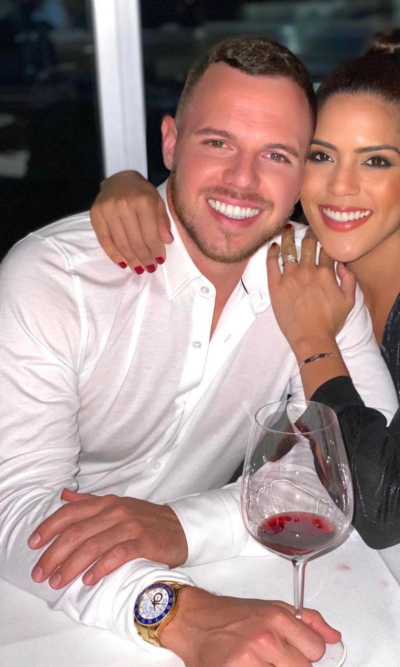 Francisca Lachapel y su novio