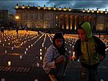 Miles repudiaron los secuestros de las FARC
