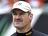 Steelers coach Bill Cowher. (Getty Images)