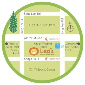 Leo's Map English