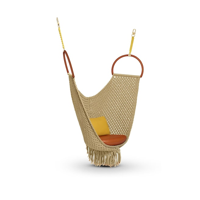 swing chair pics armchair and stool by patricia urquiola objets nomades louis vuitton view 1 all collections