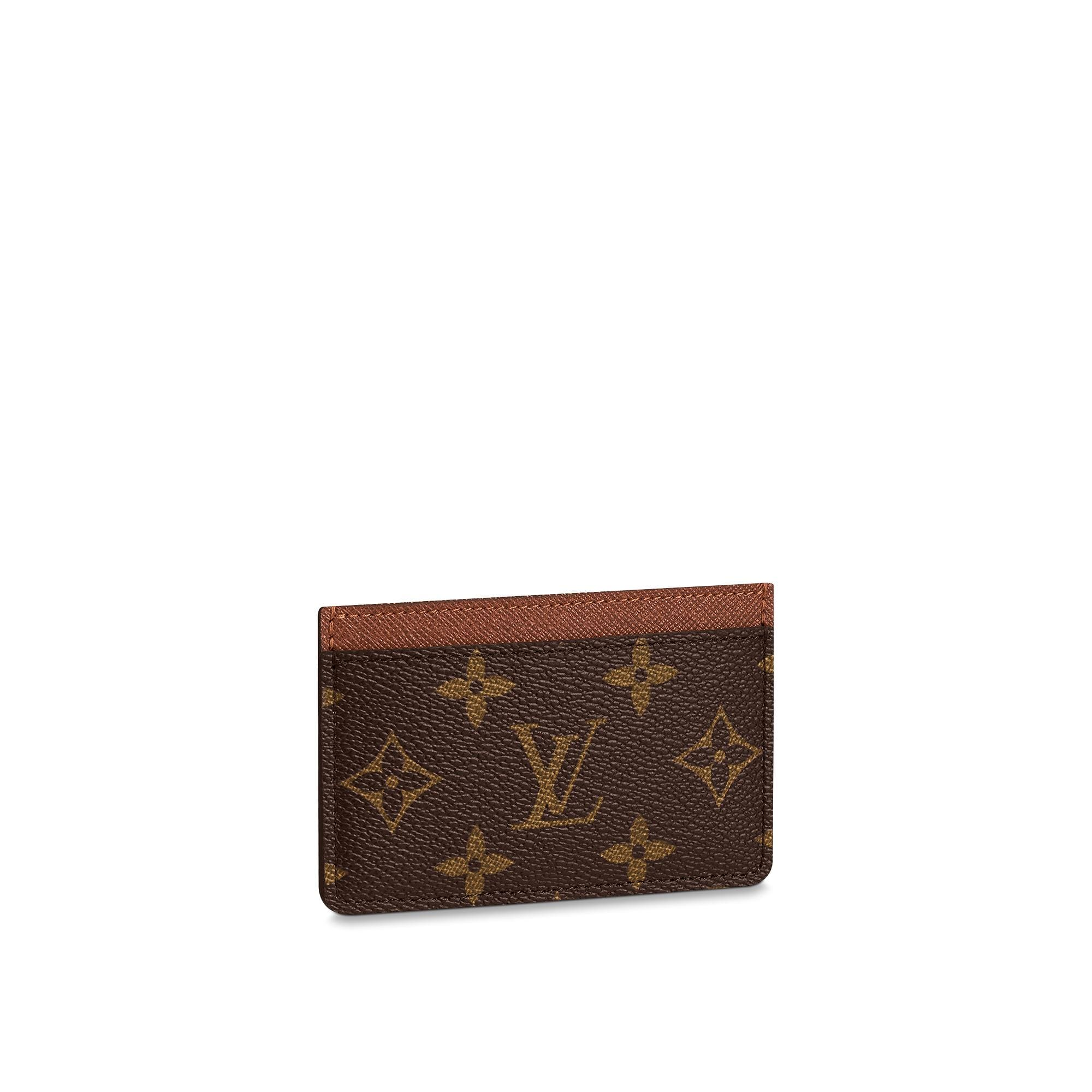 Card Holder Monogram Canvas  SMALL LEATHER GOODS  LOUIS VUITTON