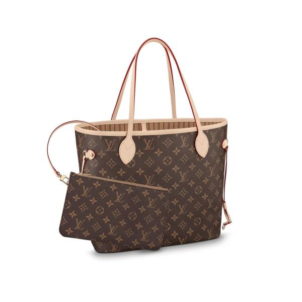 Neverfull Mm - Louis Vuitton Monogram Handbag Women
