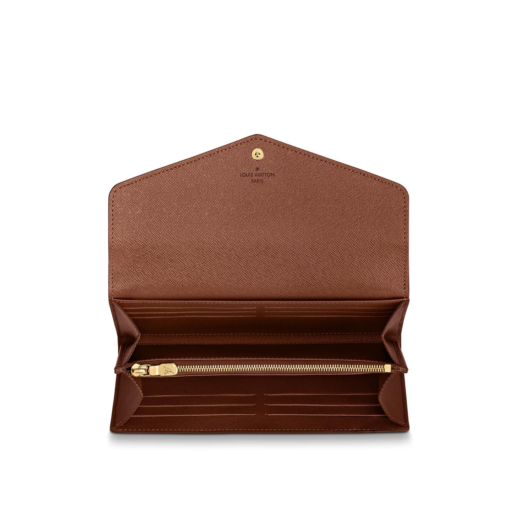 sarah wallet monogram