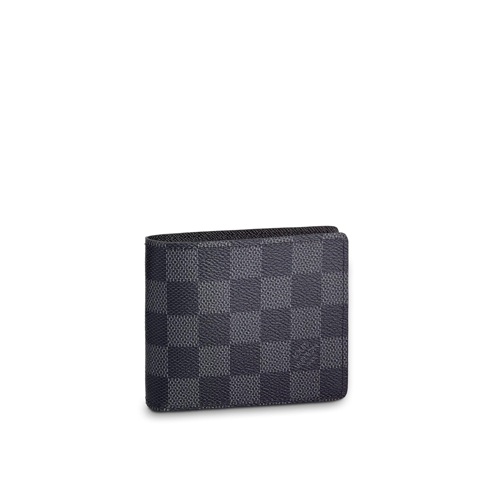 Slender Wallet Damier Graphite Canvas  SMALL LEATHER