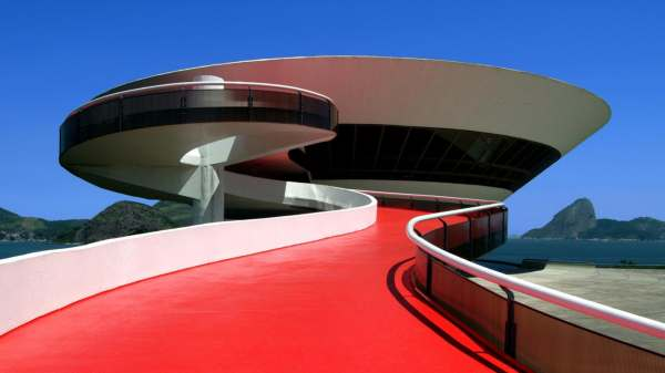 Cruise Collection Niteroi Contemporary Art Museum Designed Oscar Niemeyers Louis Vuitton