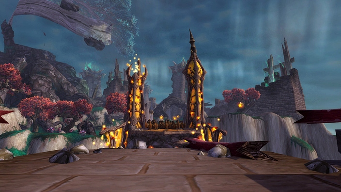 The Dread Wastes in World of Warcraft: Mists of Pandaria