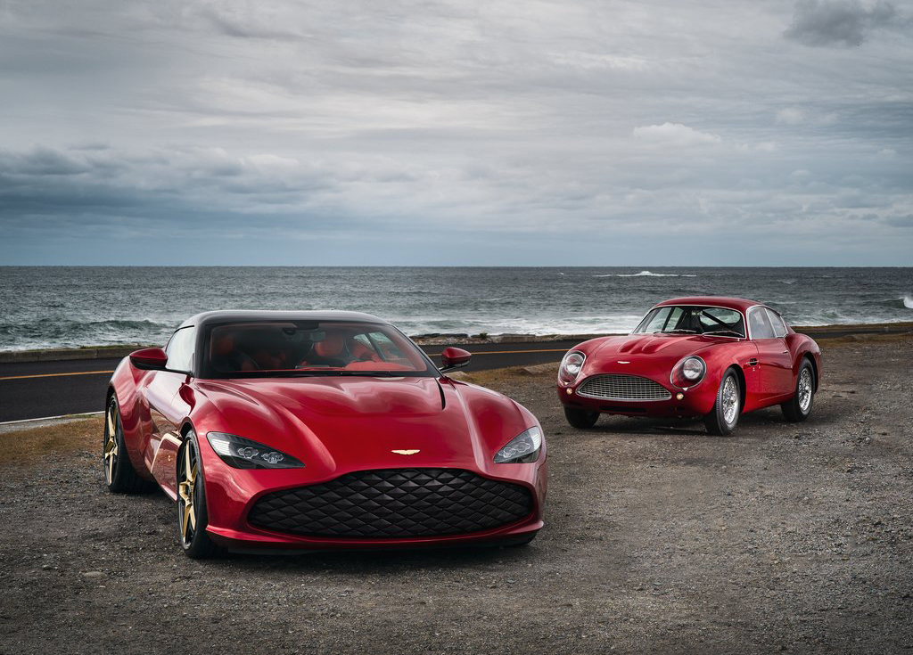 Aston Martin Dbs Gt Zagato 2020 Unveiled Motors Actu