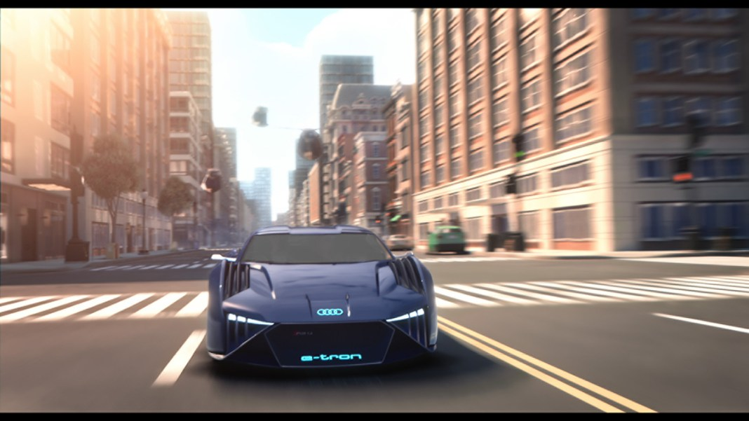 Audi teams up with Twentieth Century Fox on 'Spies in Disguise
