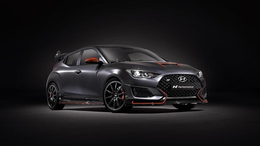 Hyundai Motor Creates Veloster N Performance Concept For 2019 SEMA Show