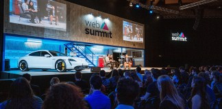 Tech Talks, Next Visions and Taycan Relaxing Rides Porsche at the Web Summit in Lisbon