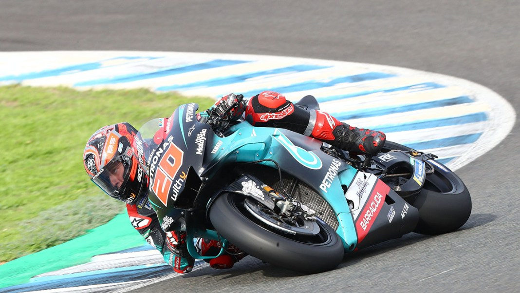 Quartararo, Jerez MotoGP tests, November 2019
