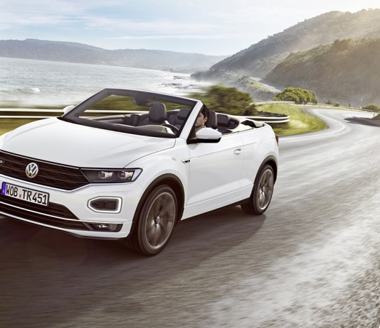 The new Volkswagen T-Roc Cabriolet R-Line