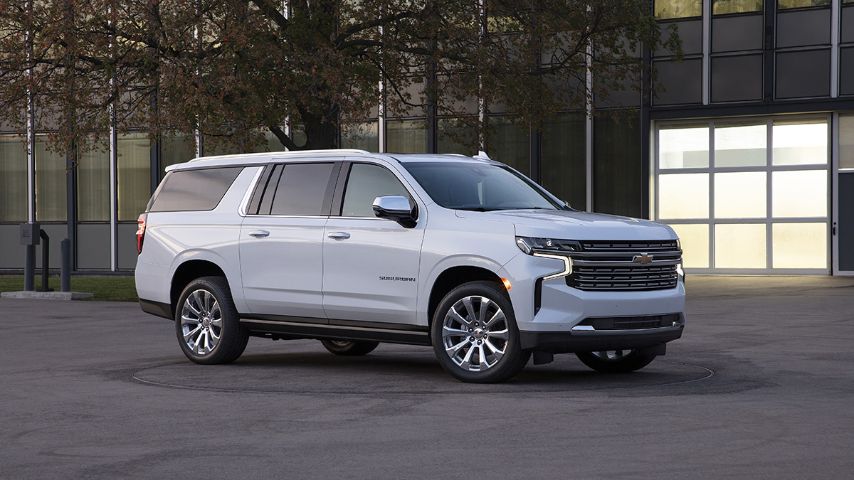 2021 Chevy Tahoe Exterior and Interior