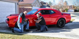 """Santa"" Bill Goldberg Delivers First Dodge Challenger SRT Hellcat Redeye to 'Dodge Horsepower Challenge' Winner Just in Time for Christmas"