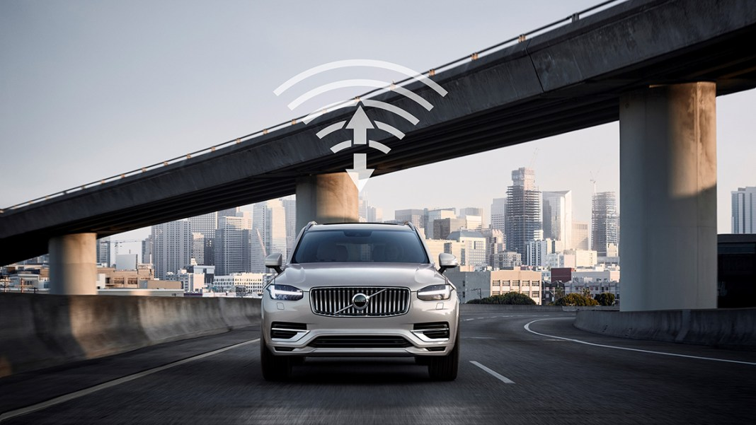Volvo Cars and China Unicom - 5G communication tech