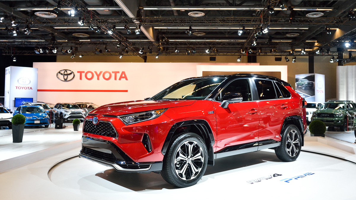 Canadian Premiere Of 2021 Rav4 Prime And All New 2020 Toyota