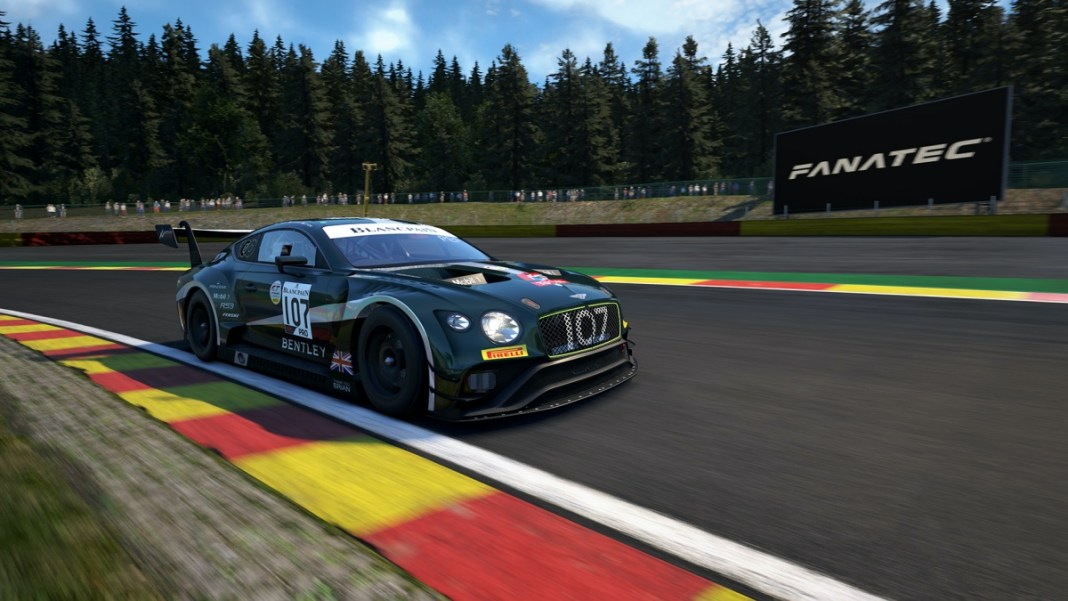 Bentley Continental GT3 eRace
